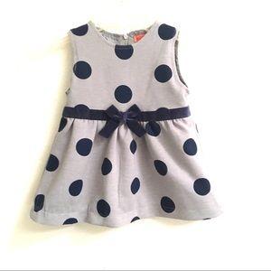 Funkyberry polkadot bow dress 3T